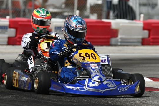 Manetti proved an inspiration for many Praga drivers in Florida