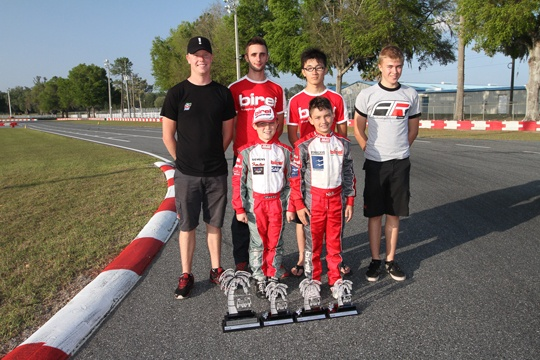 Birel drivers end 2013 FWT Rotax Max Challenge on high note