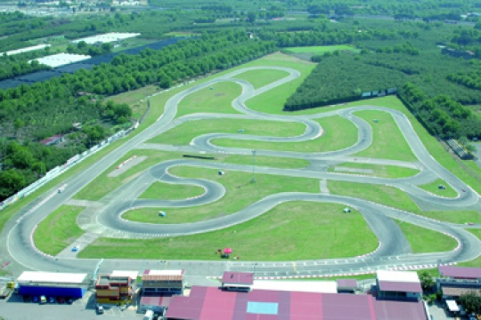 Sarno, new track layout for the KZ World Cup