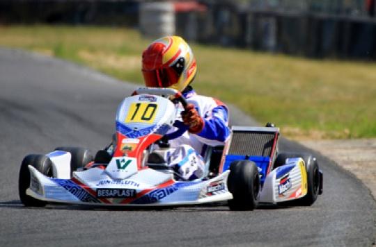 Mach1 Kart extends its ADAC lead