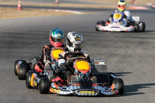 CRG-Maxter official team all set to start the next racing season in the opening race of the Winter Cup