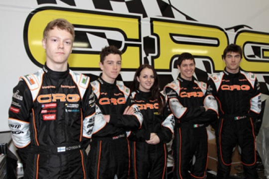 CRG-MAXTER OFFICIAL TEAM IN WACKERSDORF FOR THE KF1 WORLD CHAMPIONSHIP AND THE KZ1 AND KZ2 EUROPEAN CHAMPIONSHIPS
