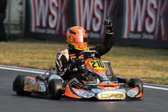 AWESOME PERFORMANCE FOR CRG IN THE WSK MASTER SERIES! WONDERFUL WINS IN KF2, KZ2 AND A PODIUM IN KZ1 IN THE RACE OF LA CONCA