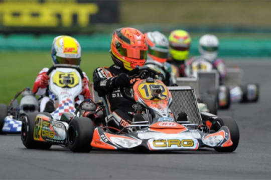 CRG IN ZUERA FOR THE CIK-FIA KF2 AND KF3 WORLD CUP, WITH ITS DRIVERS READY TO BATTLE FOR VICTORY