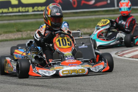 CRG OFFICIAL TEAM IN WACKERSDORF FOR THE KZ1, KZ2 AND KF2 EUROPEAN CHAMPIONSHIPS
