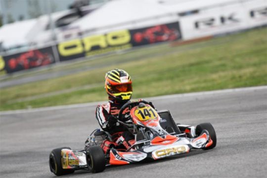 CRG SEEKS OTHER VICTORIES IN FRANCE, IN VAL D'ARGENTON IN THE SECOND ROUND OF THE WSK EURO SERIES
