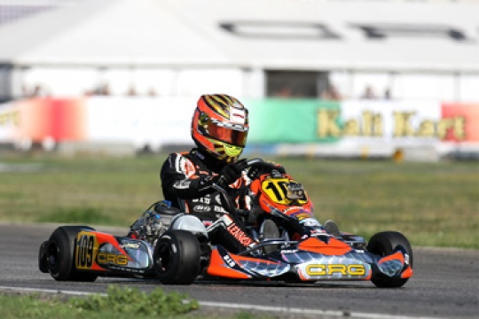 CRG-MAXTER WINS THE KZ2 WORLD CUP WITH LENNOX. IN KZ1 THONON ABDICATES WITH HONOUR. GOOD PERFORMANCE FOR FEDERER AND FORE'