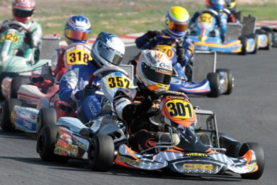 CRG OFFICIAL TEAM IN THE WSK EURO SERIES OF MURO LECCESE. ALL SET FOR THE FINAL SPRINT OF THE INTERNATIONAL SERIES