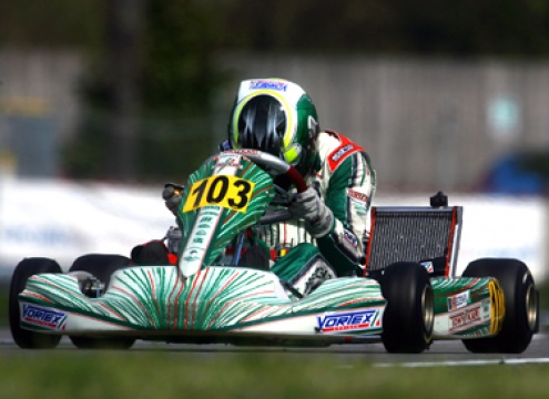 Tony Kart and Vortex opens WSK Euro Series event with a double win in KZ1 category