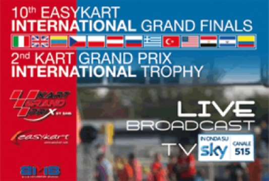 The UK's largest ever contingent of drivers at the Easykart International Finals