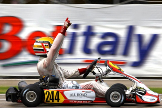 ART Grand Prix wins the first 2012 WSK Euro Series race in KF2