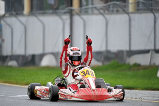 Super-fast record lap for Fuoco in Sarno