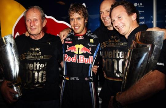 Vettel a winning bet