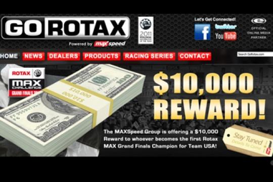 MAXSpeed rewards first American Rotax GF champ with $10,000