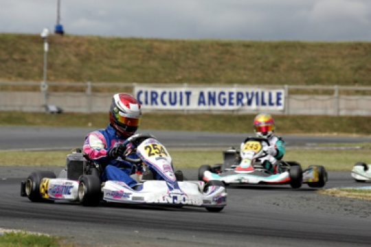 ANGERVILLE SETS THE STAGE FOR A NAILBITING FINAL TO THE 2011 ROTAX EURO CHALLENGE