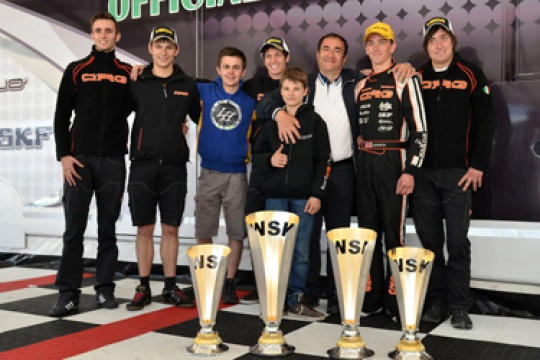 4 Podiums, 2 Double Successes and 1 Title at Castelletto!