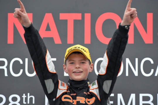 Verstappen goes it alone at WSK Nations Cup