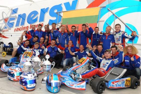 Energy: 5 European Titles in KZ2 in 9 Years!