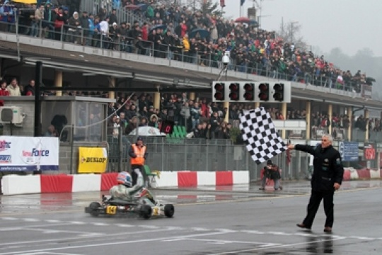 The Winter Cup opens the 2012 season at South Garda circuit
