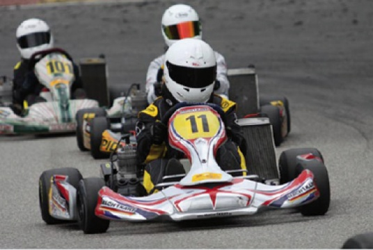 ADAC Kart Masters half-time champion