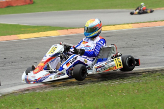 Five cups and overall lead at the ADAC Kart Masters