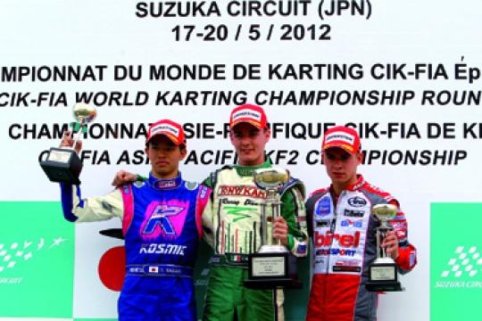World Champs at Suzuka, Race 1 goes to Camponeschi