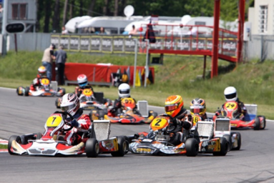 Four races and TV in 2011