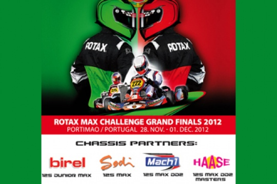 Rotax GF 2012 chassis partners – Mach1 new entry