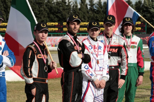 Good performances for the Italian drivers in the Rotax Grand Finals 2010