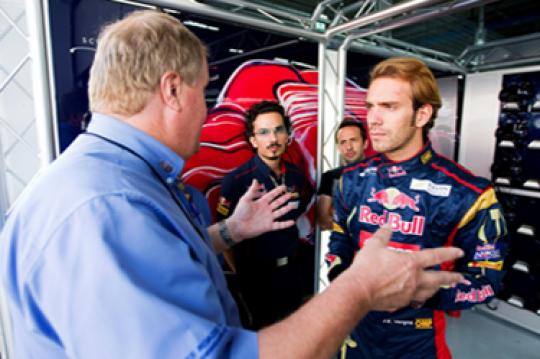 Vergne, a SODI driver in Formula 1