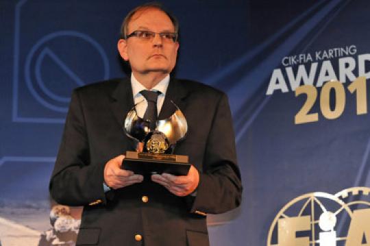 Communication from the CIK-FIA Vice-President