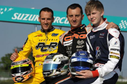 World KF1 Championship: Three World Champions in Suzuka