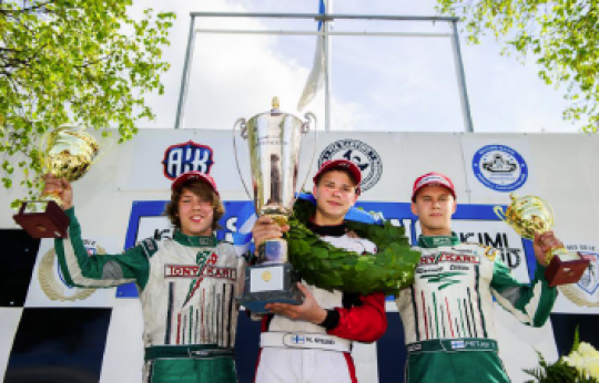 ART Grand Prix cruises to its maiden Karting title