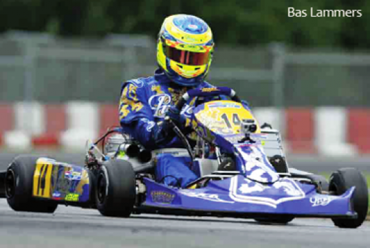ONE STEP FROM THE PODIUM IN THE CIK-FIA EUROPEAN CHAMPIONSHIP IN KZ1