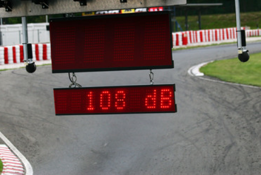 Noise limitation and control in Karting: directions for use