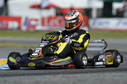 Academy Trophy: Victories for Russell and Lappalainen