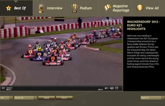 Relive in video the European Championships at Wackersdorf