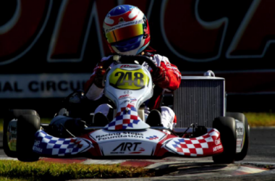 ART Grand Prix, the benchmark-setting Team in Round 1 of the 2012 CIK-FIA U18 World Championship