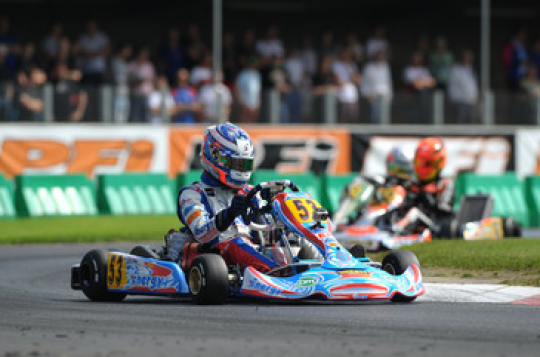 European KF2 and KF3 Championships: Olsen and Boccolacci in pole position