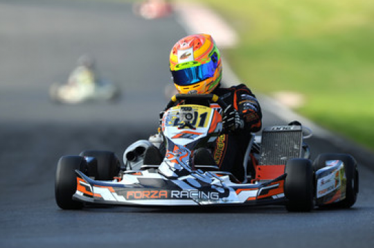 Euro KF3 : Russell doubles the stakes