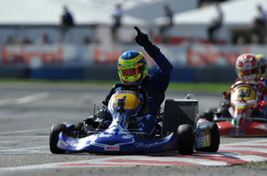 KZ1 : Second World Cup for Lammers