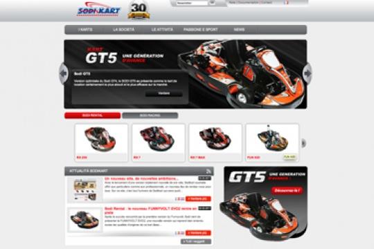 New Sodikart website