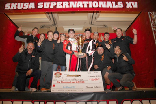 G-PHACTORY AND SODI KART TAKE HOME WIN AT SKUSA SUPERNATIONALS - Anthony Abbasse dominates KZ2