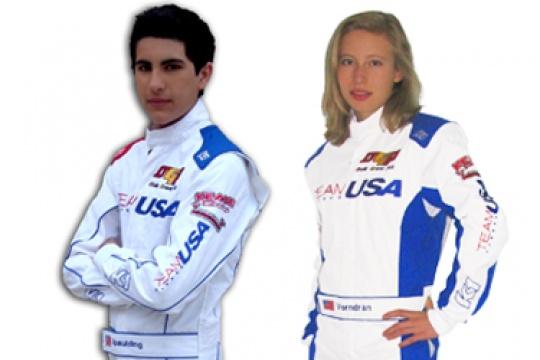 TEAM USA tests with their custom gear from K1 RaceGear