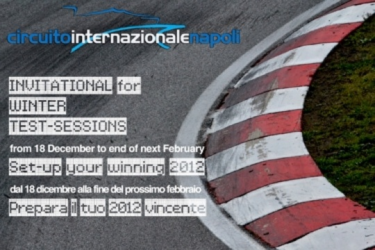 Invitational for Winter Test Sessions