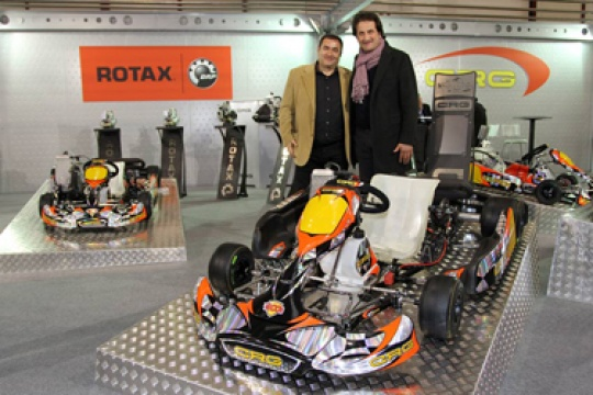 """Crg products at the """"Kart and Race"""" fair of Montichiari"""