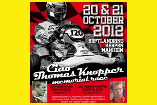 Ciao Thomas Knopper Memorial entries open