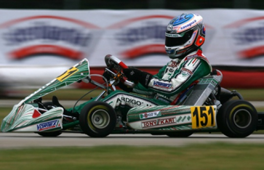 Excellent confirmation of Tony Kart Racing Team at the WSK Nations Cup