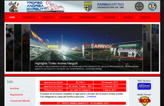 A NEW WEBSITE FOR THE 22nd ANDREA MARGUTTI TROPHY