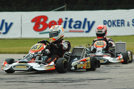 CRG and Maxter sweep the board at the WSK Nations Cup